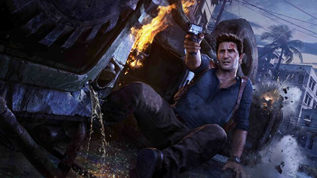 Naughty Dog now swears by the use of mics attached to heads, as it gives actors the freedom to move as they perform dialogue