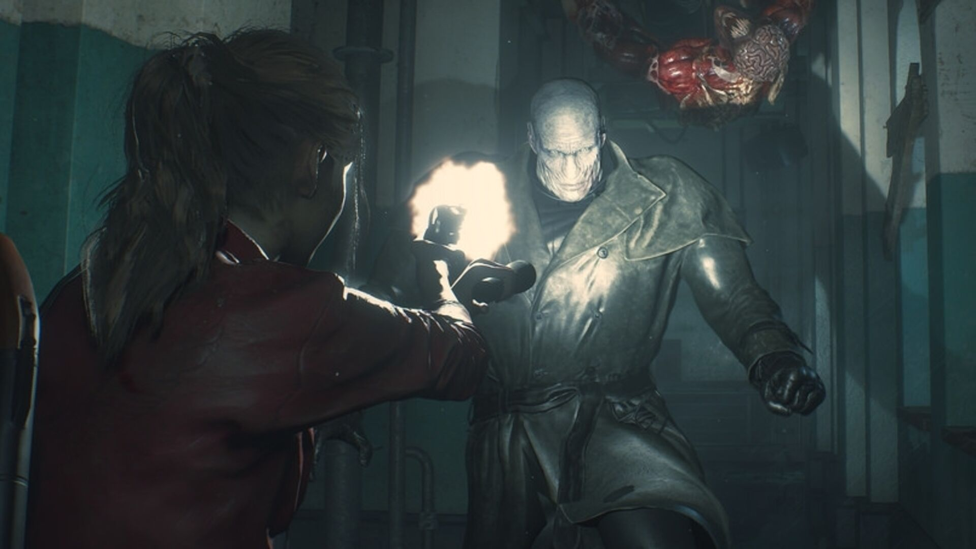 Resident Evil 2 remake's Tyrant is wonderfully terrifying