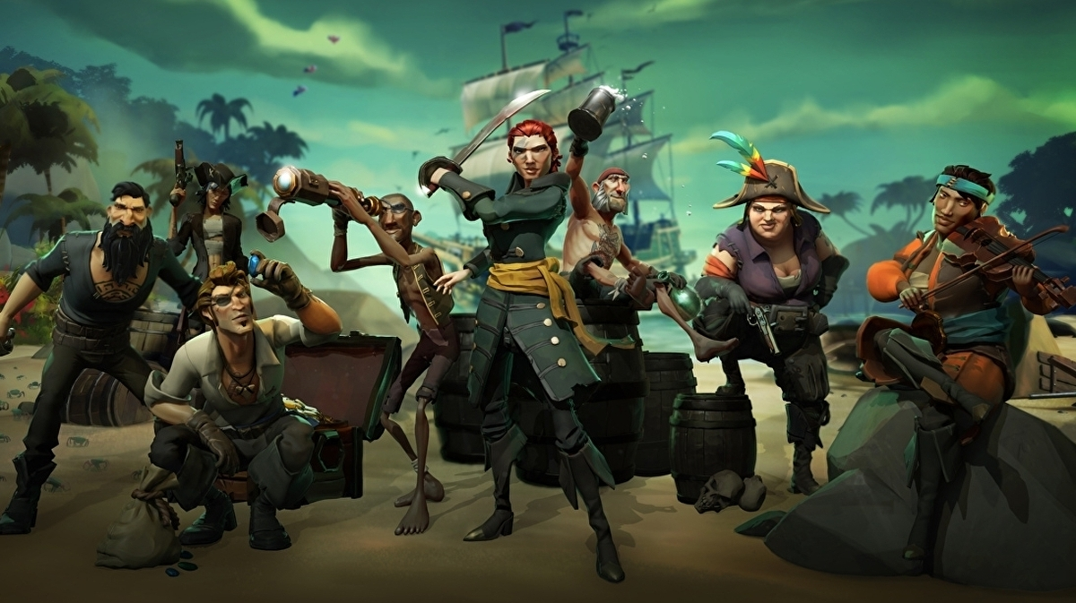 Sea of Thieves is letting friends play free for a week, starting