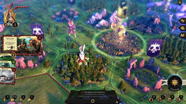 Armello combines a vivid visual style, animal characters, and Game of Thrones-style betrayal and subterfuge