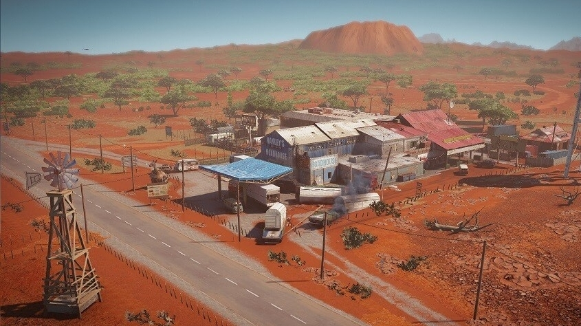 Australia Map Outback.Rainbow Six Siege Unveils New Australia Themed Outback Map