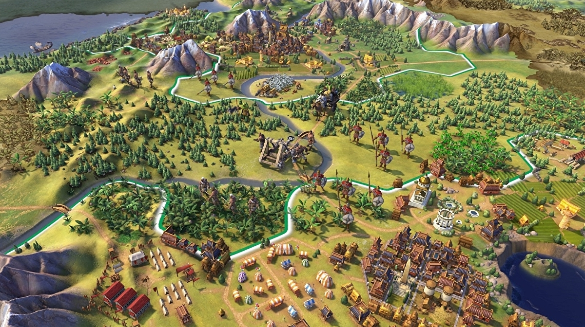 Civilization 6 is free to play on Steam right now, and for