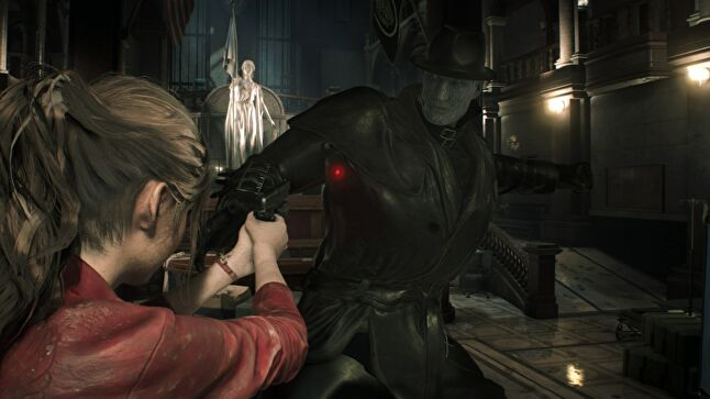 Resident Evil 2's remake abandoned the tank controls of the original in favor of an over-the-shoulder view to better create tension and fear