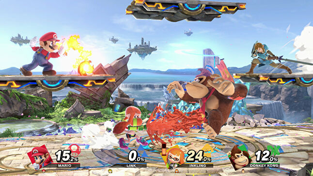 Super Smash Bros is expecting a new update this spring - a prime example of how Nintendo now treats its games like services, bringing it in-line with industry leaders