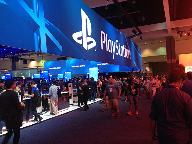 PlayStation's E3 booth was one of the biggest at the LACC