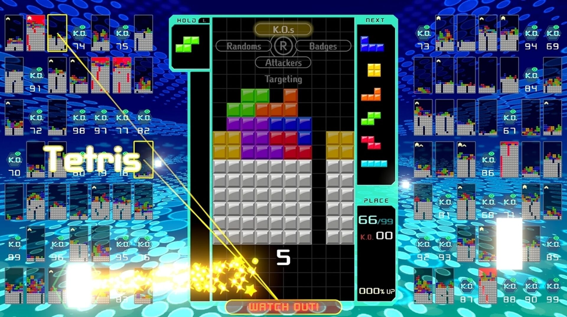 Tetris 99 Hides The Way It Works