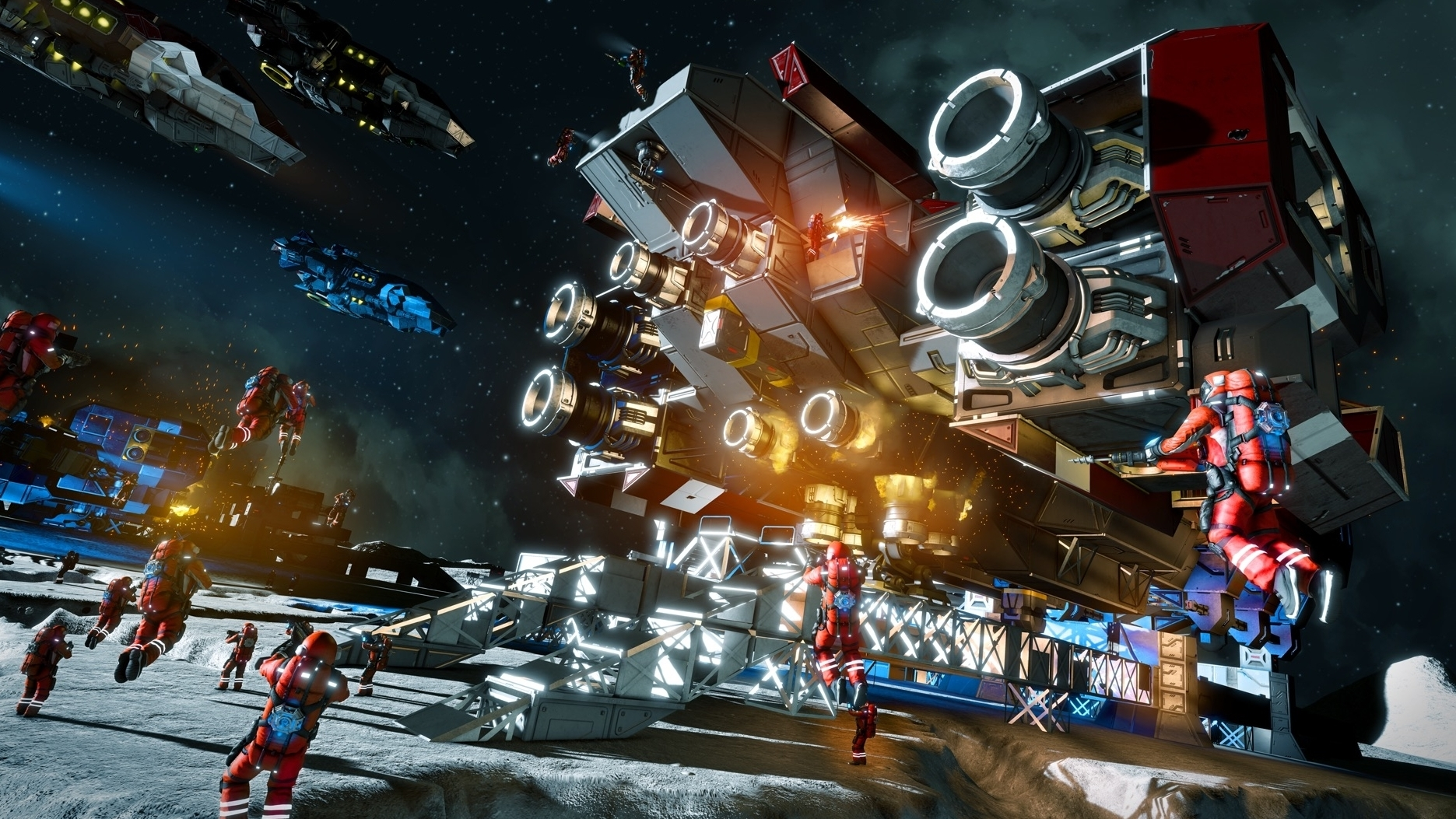 Sandbox Construction And Exploration Game Space Engineers Leaves