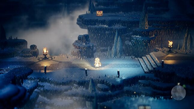 Octopath Traveler is one of Square's new games as part of an effort to develop more mid-sized titles