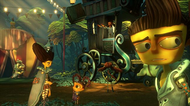Double Fine isn't looking over its shoulder expecting the worst