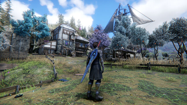 Jamet points to indie JPRG Edge of Eternity as a prime example of the scope Dear Villagers hopes to offer in future titles