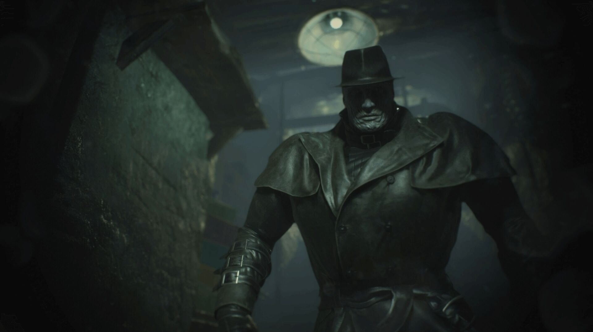 How The Resident Evil 2 Remake S Mr X Actually Works Eurogamer Net