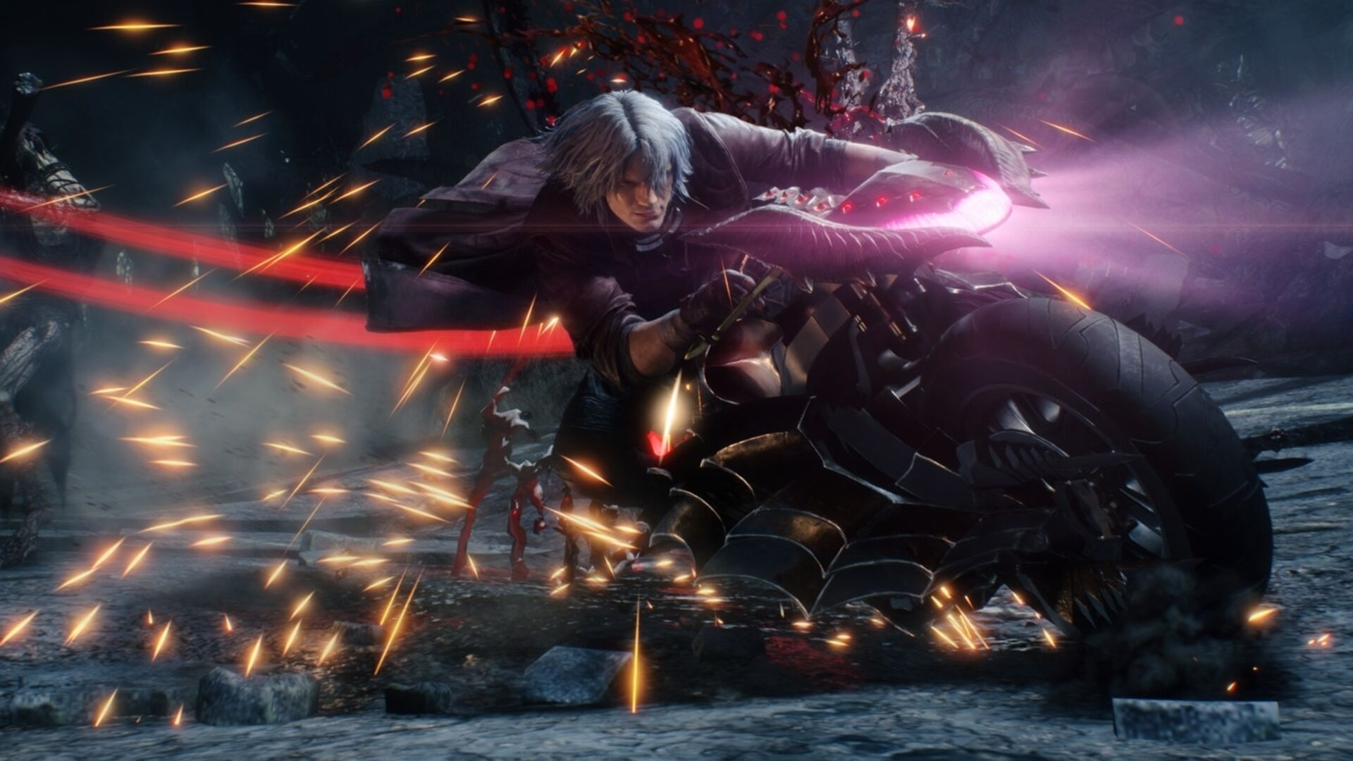Fortnite Devil May Cry Devil May Cry 5 Fans Puzzled By Lens Flare Butt Cover Up Eurogamer Net