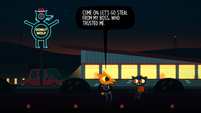 Judging by Night in the Woods, Hockenberry and Benson aren't big on bosses in general
