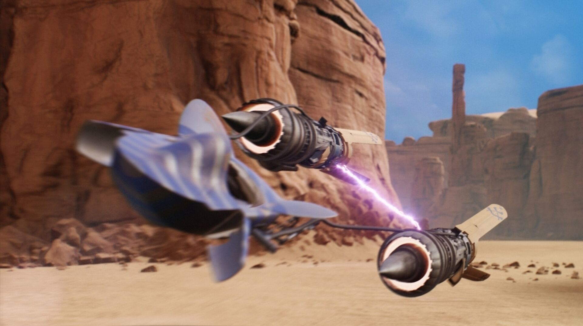 Star Wars Episode I: Racer fan remake is a souped-up nostalgia rush