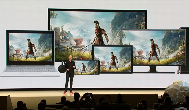Stadia promises seamless transitions between devices in a single play session