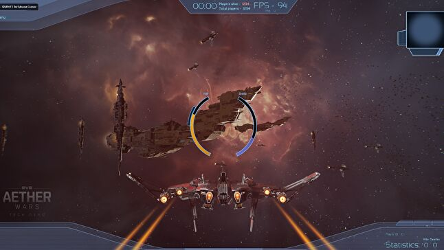 Hadean's Aether Wars demo of a 14,000-ship EVE Online piqued Greene's interest at GDC, but his next project won't necessarily revolve around combat
