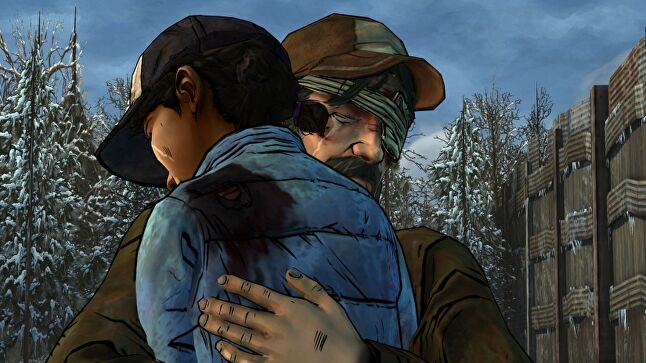 The goal for Telltale's The Walking Dead was to create a video game that made players cry