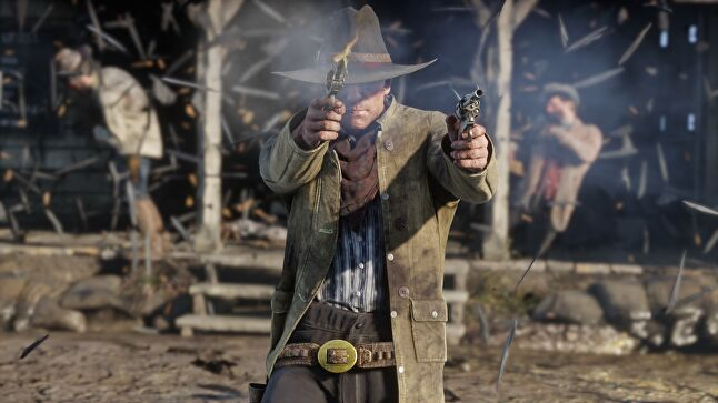 Hennig admitted to being in awe of games like Red Dead Redemption 2, despite knowing she'll never see the end of its story