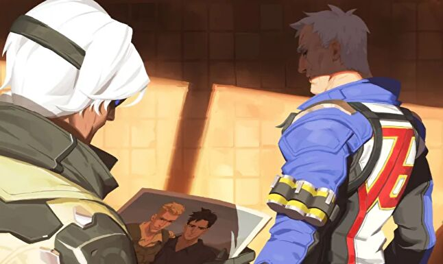 Soldier: 76's homosexuality was met with complaints from some Overwatch fans, but Kristic says this never influences the story his team wants to tell