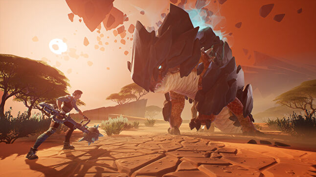 Dauntless is a free-to-play action RPG where players can team up or fight alone to bring down massive monsters called Behemoths