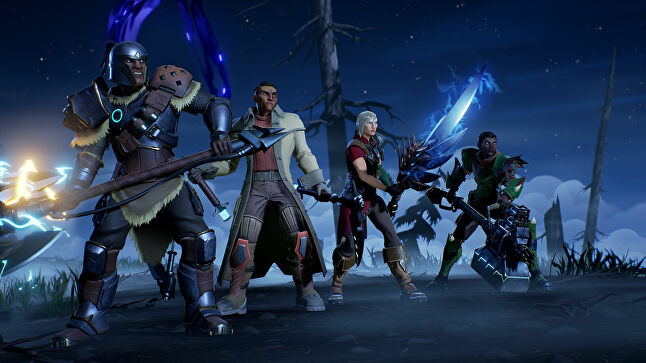 Phoenix Labs' goal from the start has been for Dauntless to allow cross-platform play across all major platforms