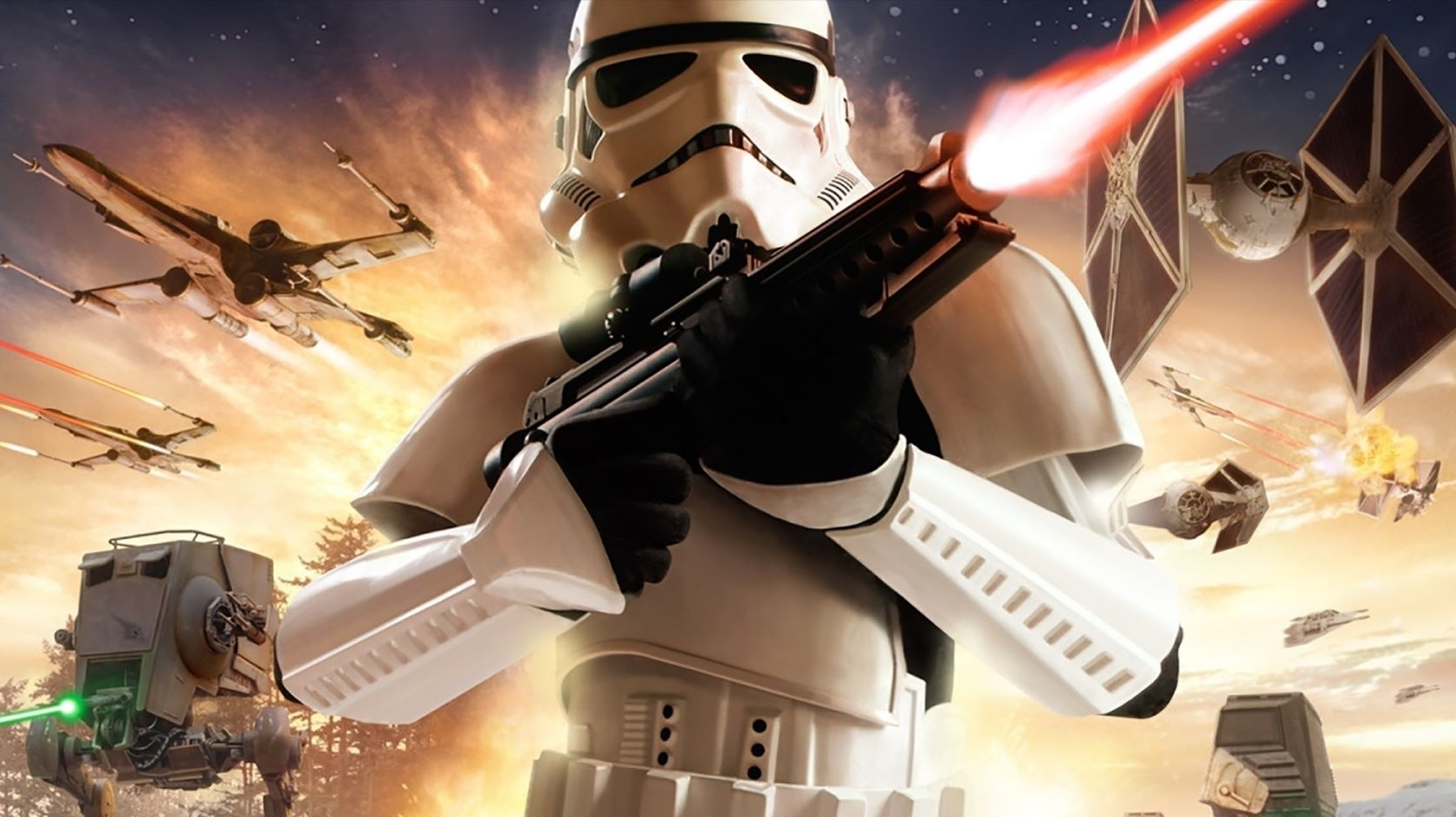 Classic Star Wars Battlefront Now On Steam And GOG, With
