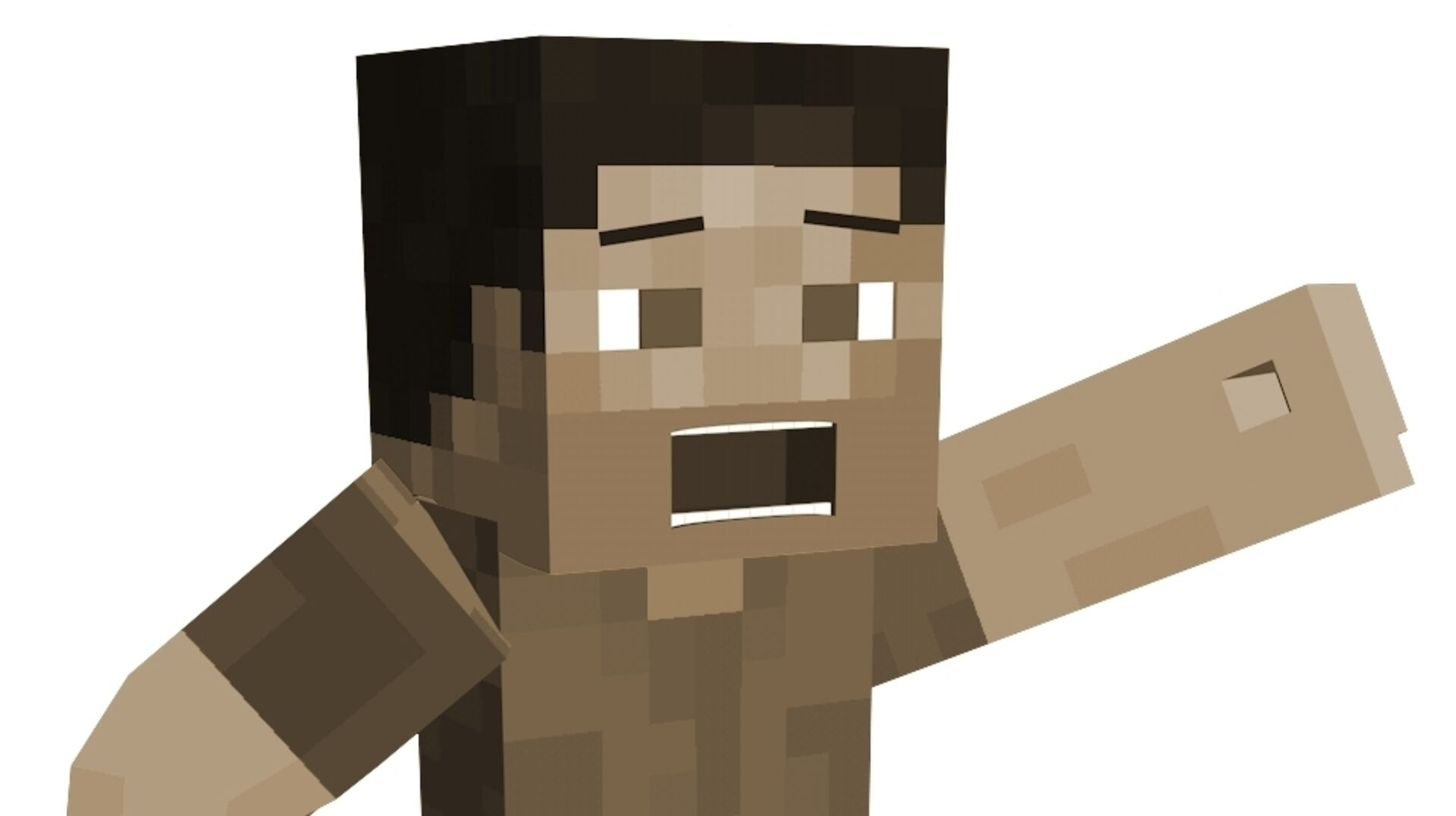 Now you can play a 10-year old version of Minecraft in your