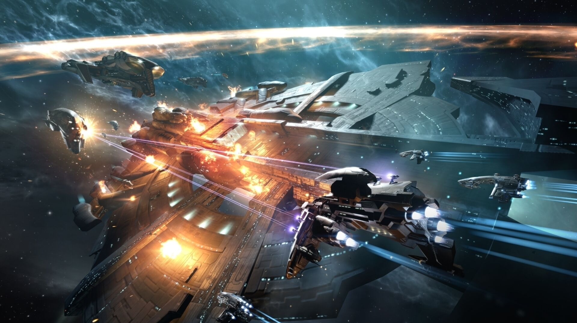 The next Eve Online expansion is fittingly titled Invasion