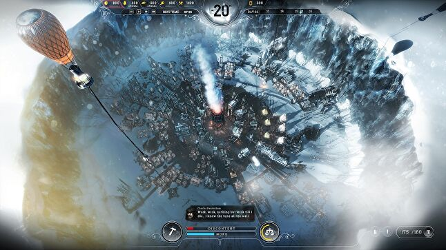 Frostpunk's structure makes it well suited to a console controller