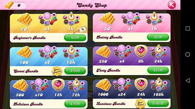 Candy Crush has no loot boxes, but lots of criticism for manipulative monetization
