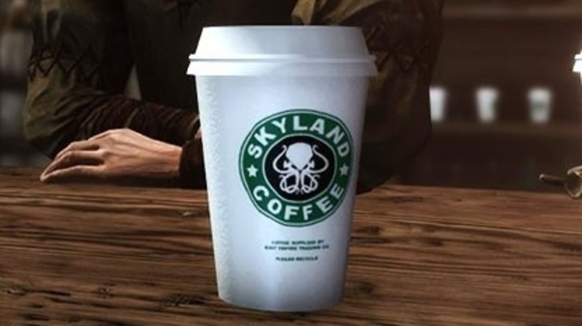 Skyrim mods let you add Game of Thrones' Starbucks cup