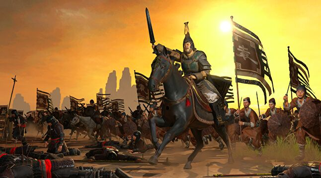 China has been the major market for Total War: Three Kingdoms