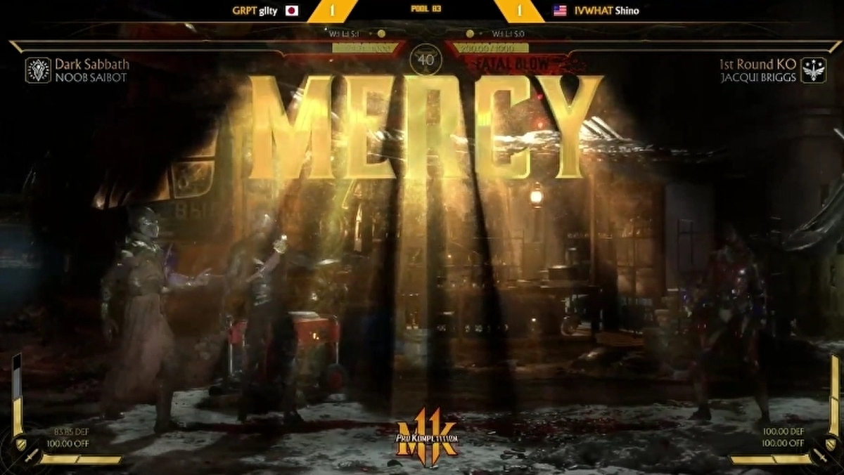 Mortal Kombat 11 pros are showing maximum disrespect with Mercy