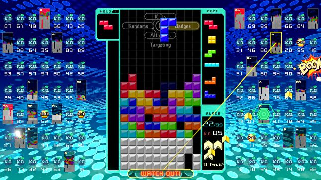 Tetris 99 is being used to push Nintendo's online service