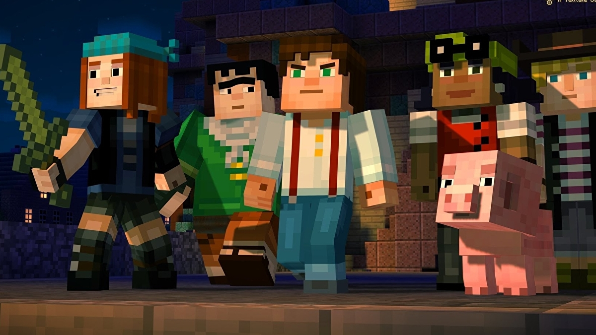 Download Minecraft: Story Mode now before it's delisted later this month