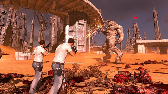 Croteam gave its designers a lot of freedom on Serious Sam VR: The Last Hope as they experimented with what did and didn't work in virtual reality
