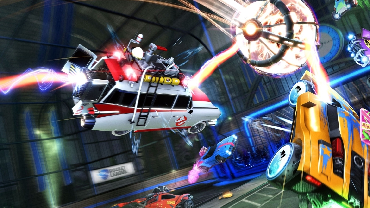 Rocket League Is Going Full-on 80s In Its Radical Summer