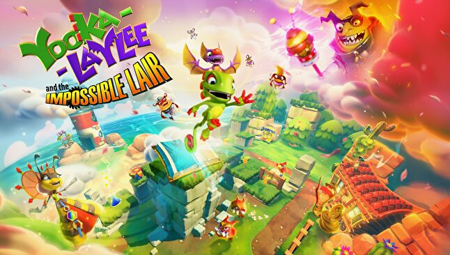 The next Yooka-Laylee is out very soon