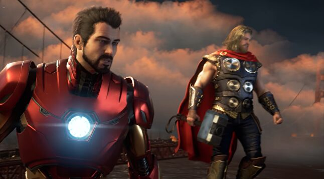 This is an original Avengers game, but with plenty of fan service