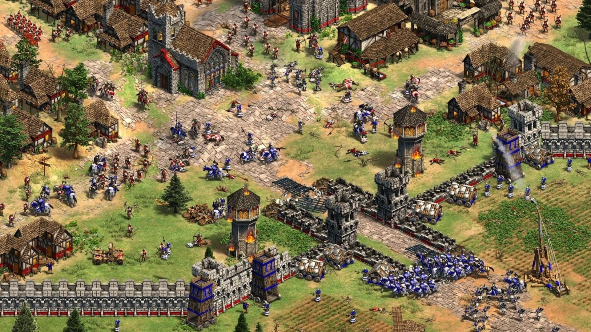 Age of Empires 2: Definitive Edition looks great, but still