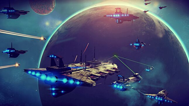 Sean Murray and the Hello Games team remain proud of No Man's Sky's launch version but have spent three years expanding it with new ideas