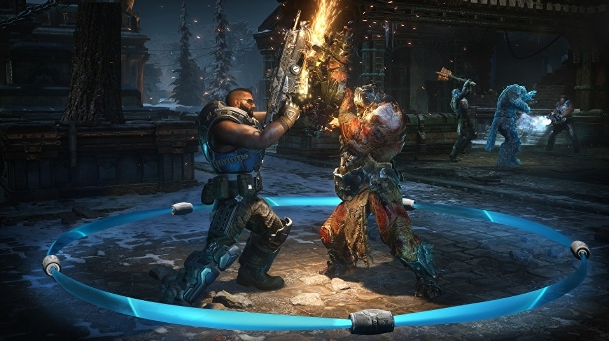 Upcoming Gears 5 versus multiplayer tech test open to Xbox Game Pass members • Eurogamer.net