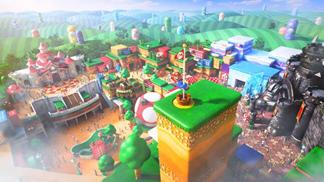 The opening of the Nintendo theme park in Osaka will place the company alongside Disney in terms of its strategy