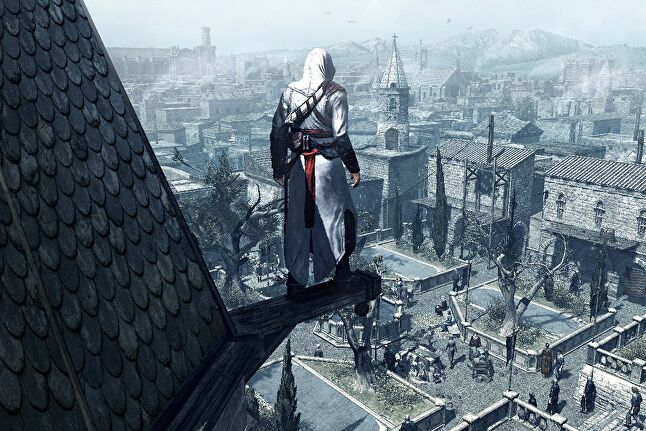 Assassin's Creed enables players to create their own stories by creating opportunities within its world and giving players the agency to use them