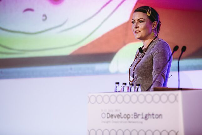 UKIE's Jo Twist gave a talk at Develop:Brighton last week