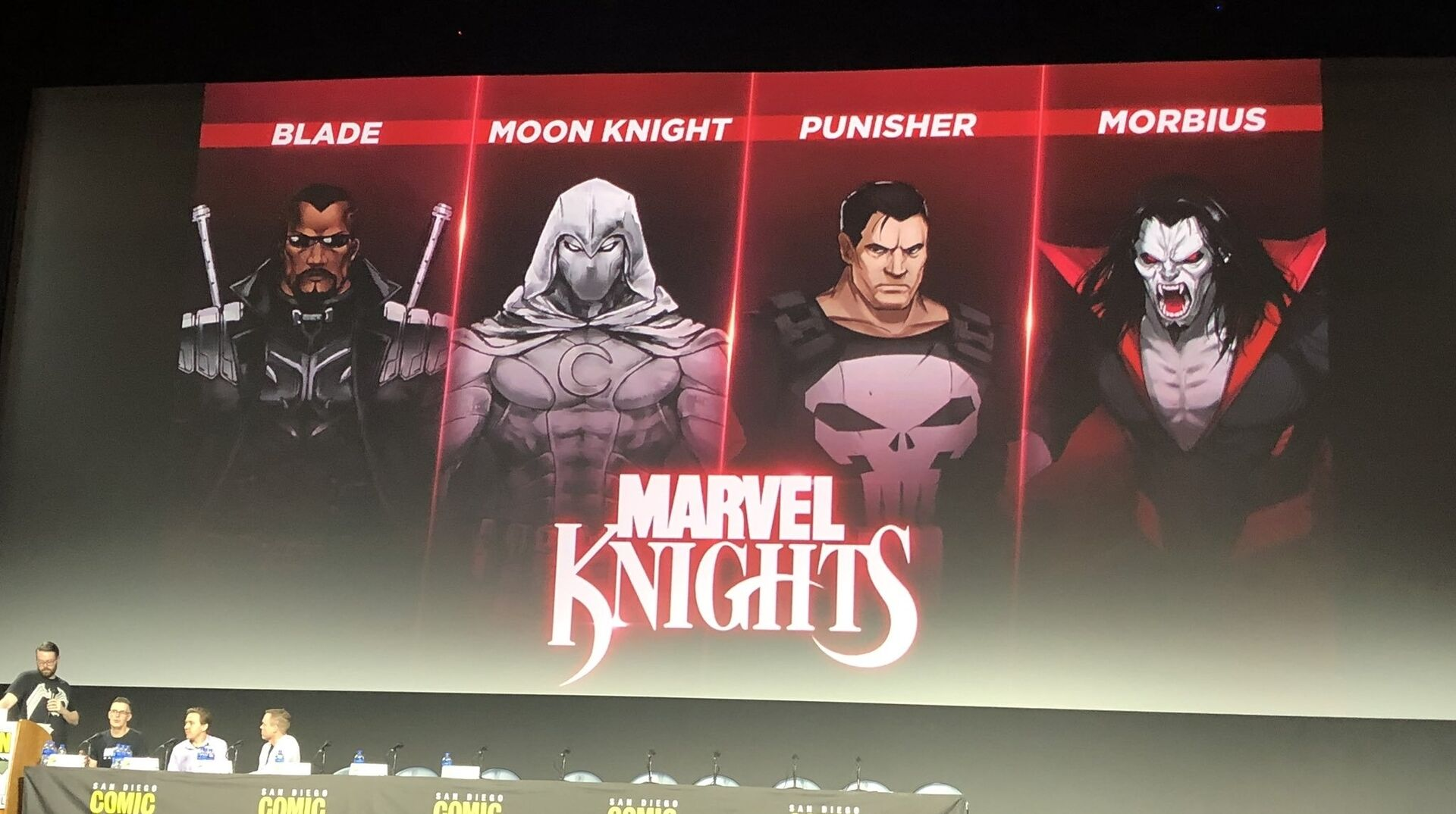 Bilderesultat for Marvel Knights Curse of the Vampire