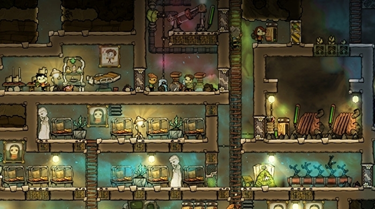 Klei's space colony management sim Oxygen Not Included leaves early access next week