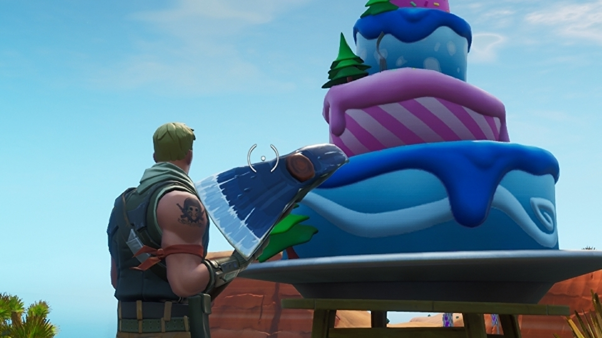 Fortnite Birthday Cake Locations Where To Find The 10 Birthday