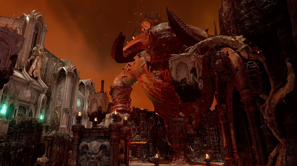 Id Shows Off Doom Eternal S Slayer Versus Demons