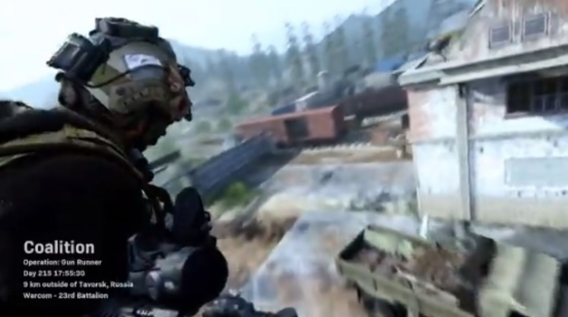 Call of Duty: Modern Warfare has a cool intro to multiplayer